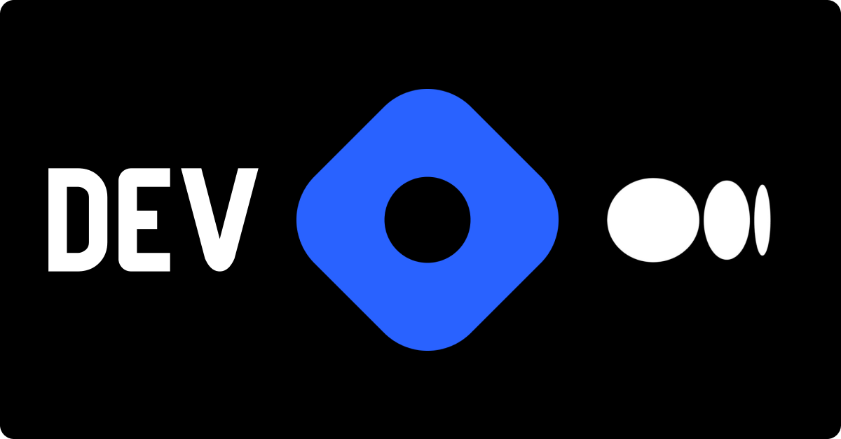 Large hero image showing Dev, Hashnode, and Medium's logos